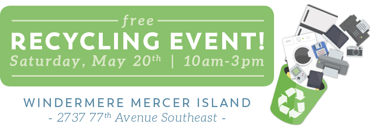 Free Recycling Event Ina Bahner